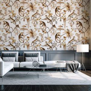 Chinoiserie Jungle Wallpaper