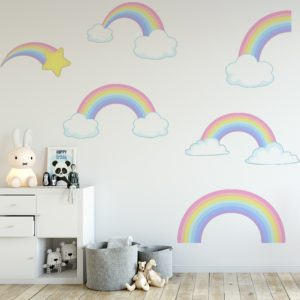 Pastel Rainbows Set