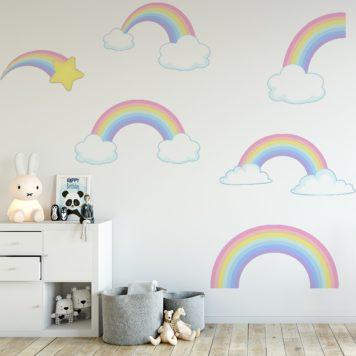 Pastel Rainbows Set