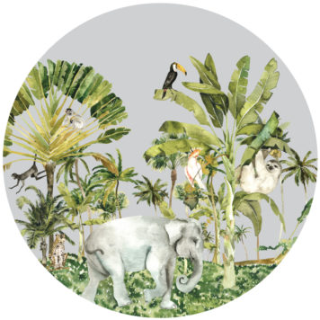 Jungle Life Roundabout in grey