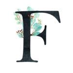 F Eucalyptus Letter