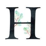 H Eucalyptus Letter