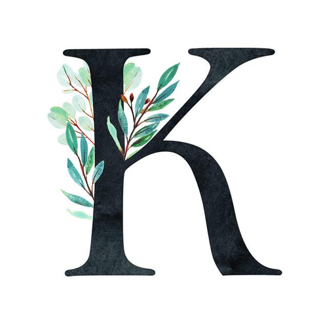 K Eucalyptus Letter