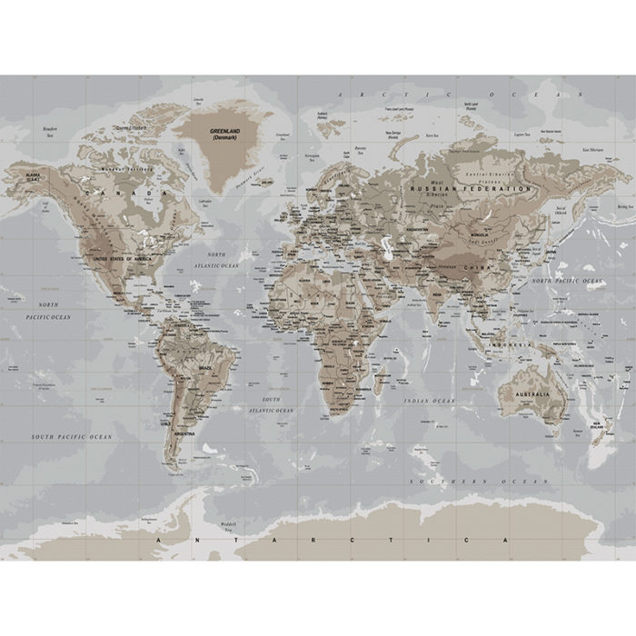denim world map