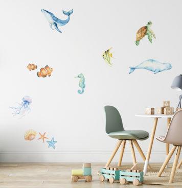Sea wall stickers