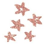 Glitter Stars Blush Pink