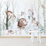 Woodland Wall Mural Lifestyle