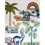 Dino Raw Jungle Dinosaurs and palm trees Lifestyle