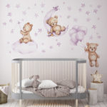 Teddy Dreams wall stickers large