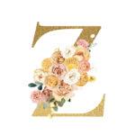 Z Flower letter